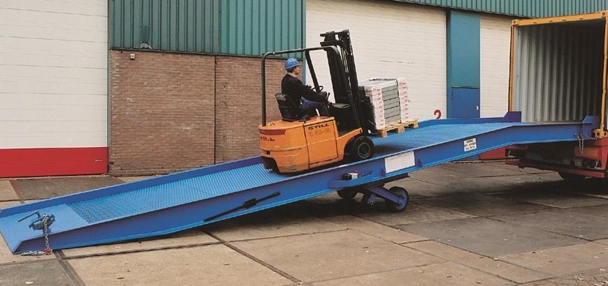 Storax laadbruggen FPC gecertificeerd en voorzien van CE markering